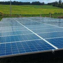 Energia Solar Rural 25,08 kWp 76 módulos Humaitá RS