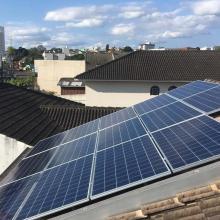 Energia Solar Residencial 4,62 kWp 14 módulos Cascavel Paraná