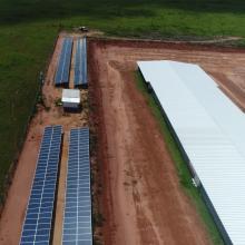 Energia Solar Rural 128,00 kWp 400 módulos Nova Mutum MT