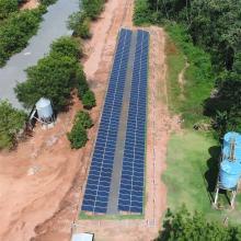 Energia Solar Rural 89,60 kWp 280 módulos Nova Mutum Mato Grosso