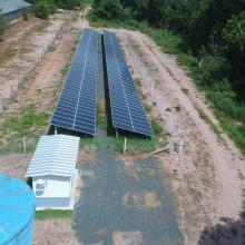 Energia Solar Rural 90,24 kWp 282 módulos Nova Mutum Mato Grosso