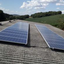 Energia Solar Rural 9,60 kWp 30 módulos Vitorino Paraná