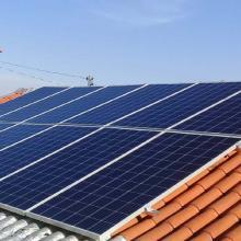 Energia Solar Residencial 3,96 kWp 12 módulos Itarumã Goiás
