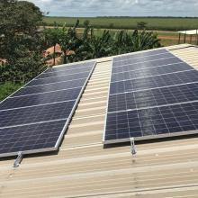 Energia Solar Rural 4,62 kWp 14 módulos Tapurah Mato Grosso