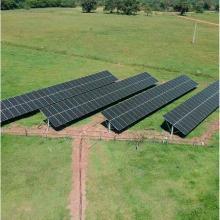 Energia Solar Rural 67,84 kWp 212 módulos Aquidauana MS