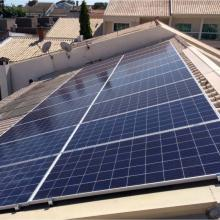 Energia Solar Residencial 6,40 kWp 20 módulos Londrina Paraná