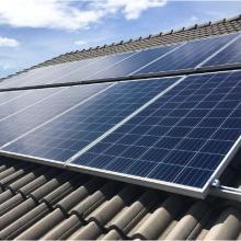 Energia Solar Residencial 4,48 kWp 14 módulos Uberlândia MG