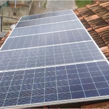 Energia Solar Residencial 1,92 kWp 6 módulos Vespasiano MG