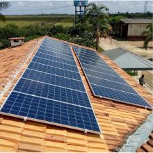 Energia Solar Rural 7,26 kWp 22 módulos Tailândia Pará