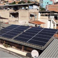Energia Solar Residencial 5,28 kWp 16 módulos São João Del Rei