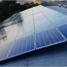 Energia Solar Comercial 31,35 kWp 95 módulos Ponte Nova MG