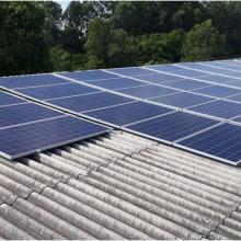 Energia Solar Industrial 17,16 kWp 52 módulos Capanema Paraná