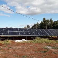 Energia Solar Rural 27,72 kWp 84 módulos Bandeirantes MS