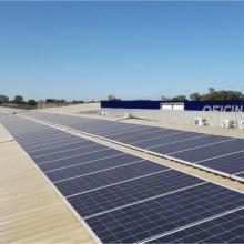 Energia Solar Comercial 54,40 kWp 170 módulos Cuiabá MT