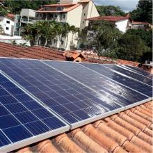Energia Solar Residencial 3,96 kWp 12 módulos Nova Friburgo RJ