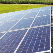 Energia Solar Rural 23,76 kWp 72 módulos Naviraí MS