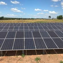 Energia Solar Rural 90,75 kWp 275 módulos Nova Mutum Mato Grosso