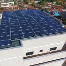 Energia Solar Residencial 31,68 kWp 96 módulos Rio Verde Goiás