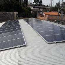 Energia Solar Comercial 7,92 kWp 24 módulos Guarapuava Paraná