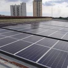 Energia Solar Comercial 36,30 kWp 110 módulos Taubaté SP