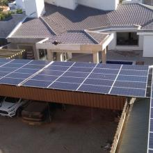 Energia Solar Comercial 39,04 kWp 122 módulos Araputanga MT