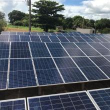 Energia Solar Rural 87,68 kWp 274 módulos Tapurah Mato Grosso