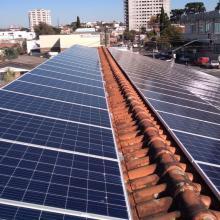 Energia Solar Comercial 43,20 kWp 135 módulos Prudentópolis PR