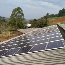 Energia Solar Rural 56,32 kWp 176 módulos São Carlos SC
