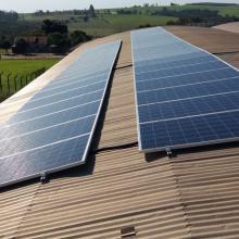 Energia Solar Industrial 13,44 kWp 42 módulos Araruna Paraná