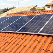 Energia Solar Residencial 2,56 kWp 8 módulos Serrana São Paulo