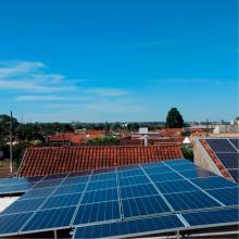 Energia Solar Comercial 12,16 kWp 38 módulos Campo Grande MS