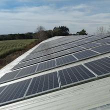 Energia Solar Rural 39,33 kWp 114 módulos Mafra Santa Catarina