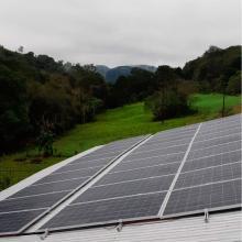 Energia Solar Rural 20,13 kWp 61 módulos Sul Brasil SC