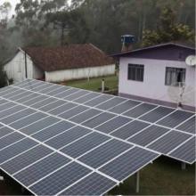 Energia Solar Rural 23,43 kWp 71 módulos Serra Alta SC