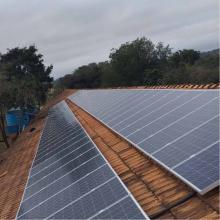 Energia Solar Rural 28,71 kWp 87 módulos Santa Helena Paraná