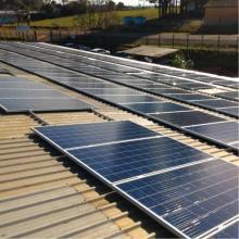 Energia Solar Industrial 60,72 kWp 184 módulos Não-Me-Toque RS