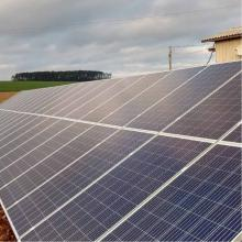 Energia Solar Rural 26,40 kWp 80 módulos Erval Seco RS