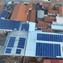 Energia Solar Industrial 171,60 kWp 520 módulos Uruaçu Goiás