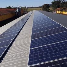 Energia Solar Rural 57,60 kWp 180 módulos Santa Helena Paraná