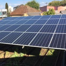 Energia Solar Comercial 48,47 kWp 131 módulos Santiago RS