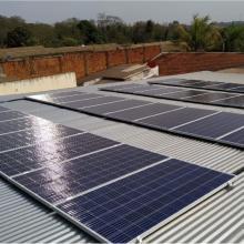 Energia Solar Comercial 10,24 kWp 32 módulos Dourados MS