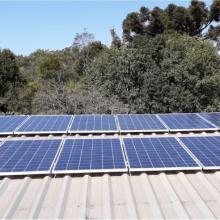 Energia Solar Rural 6,40 kWp 20 módulos Cascavel Paraná
