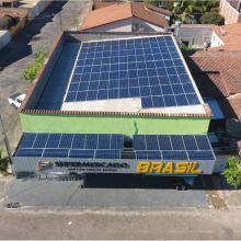 Energia Solar Comercial 40,26 kWp 122 módulos Uruaçu Goiás