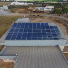 Energia Solar Industrial 41,58 kWp 126 módulos Goianésia Goiás