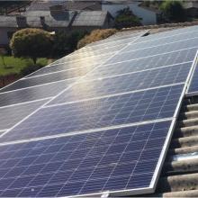 Energia Solar Residencial 12,80 kWp 40 módulos Taquaruçu do Sul