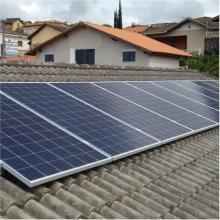 Energia Solar Residencial 3,30 kWp 10 módulos Jacareí SP