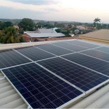 Energia Solar Residencial 13,76 kWp 43 módulos Jaciara MT