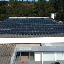 Energia Solar Comercial 91,08 kWp 276 módulos Guaratinguetá SP