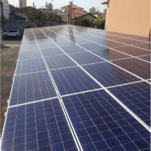 Energia Solar Comercial 32 kWp 100 módulos Birigui São Paulo