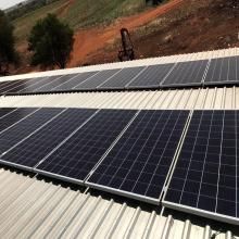 Energia Solar Rural 13,20 kWp 40 módulos Glória de Dourados MS